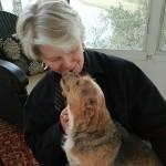Annie kisses